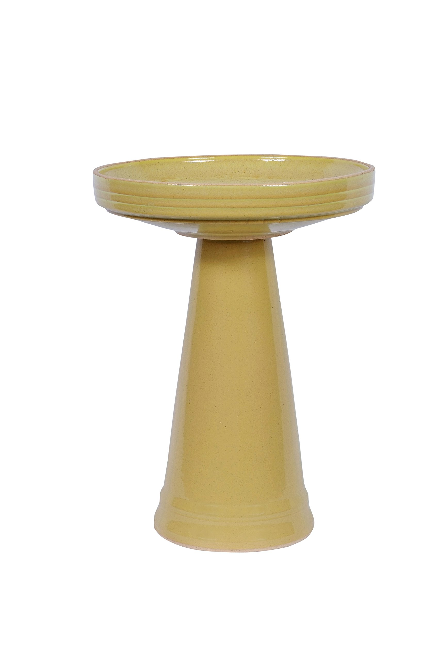 Bird's Choice BCSE-SL Simple Elegance Ylw Bird Bath, Medium, Sunlight by Birds Choice