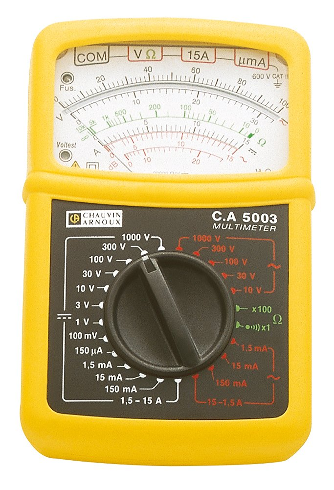 Chauvin Arnoux P01196522E 5003 Analog-Multimeter