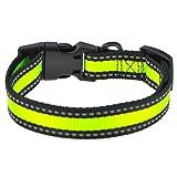 Mile High Life Dog Collar | Reflective 3M Stripe