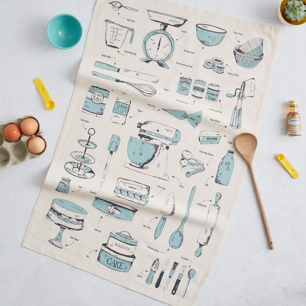 100/% Organic Cotton Fabric Essential Kitchen Tea Towel