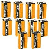10 Nouvelle Batterie D'origine Piles Duracell MN1604 Alcaline PP3 9 V Industrielle Remplace Procell