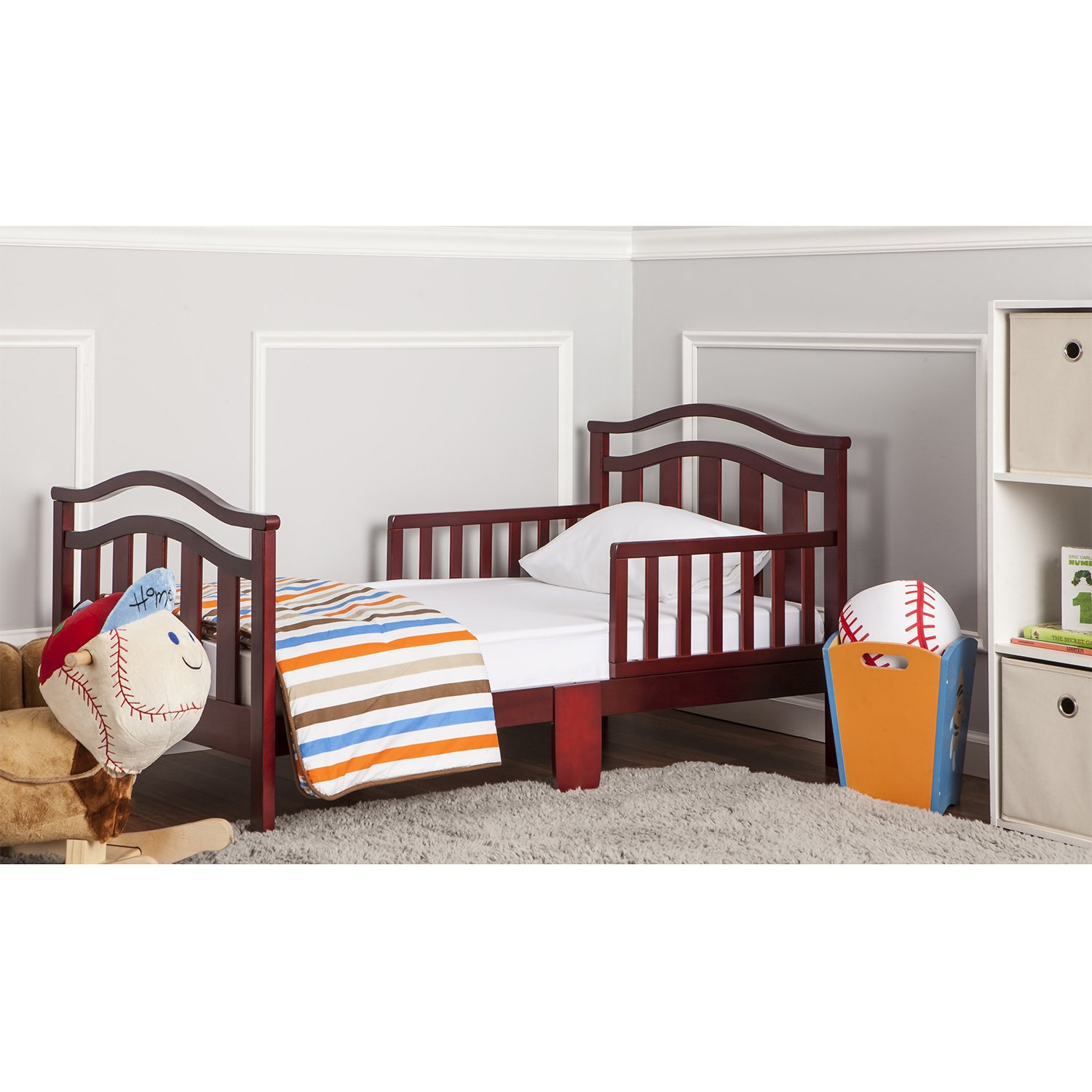 Dream On Me Elora Collection Toddler Bed, Cherry