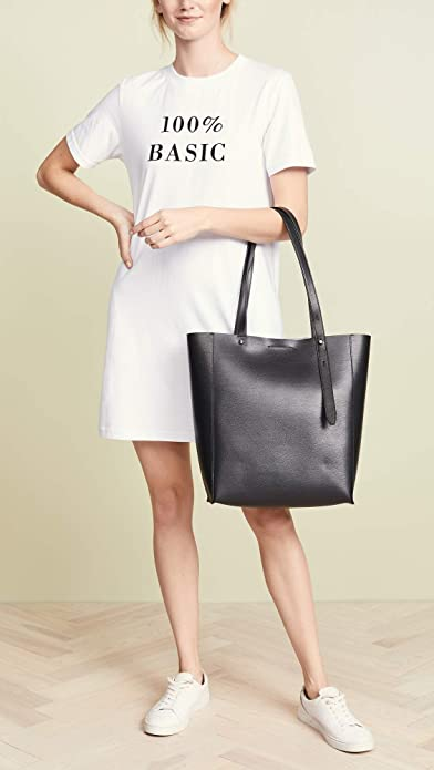 b25642f02 Amazon.com: Rebecca Minkoff Women's Stella North South Tote, Black, One  Size: Shoes