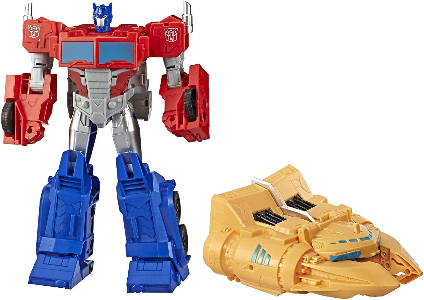 Transformers- Cyberverse Ark Power Optimus Prime (Hasbro E4218EU4 ...