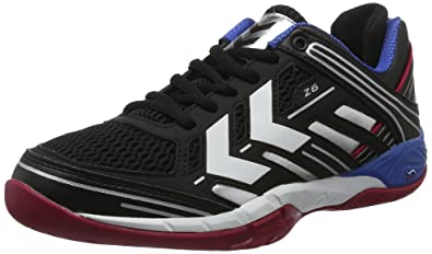 Unisex Adults Omnicourt Z6 Fitness Shoes, Black/Silver Hummel