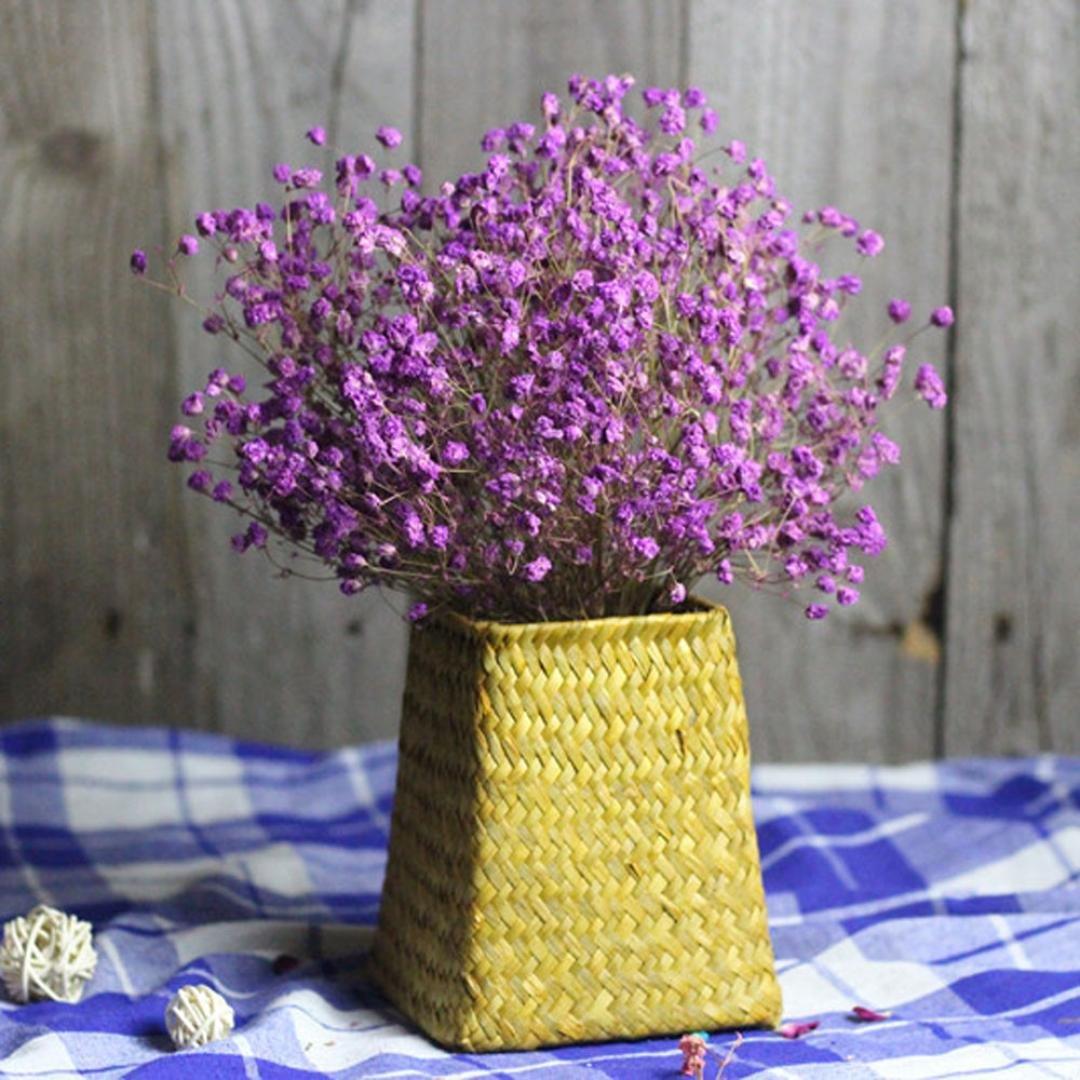Flores Artificiales Decoracion Jarrones Sanysis Ramos De Gypsophila - Jarrones-con-flores-secas