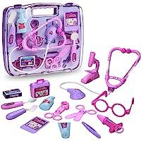 Maletín de médico juguete kit de aprendizaje de regalos de imitación doctor y enfermera para Niños