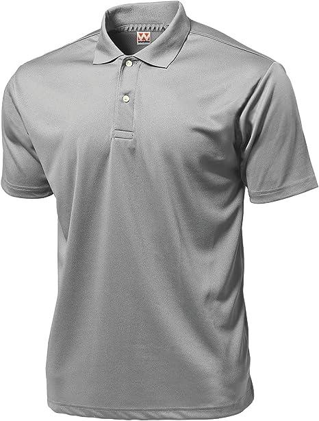 Wundou Hombres de Deporte Dry luz Polo-Shirts P335? L? Luz Gris ...