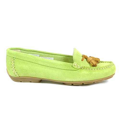 Vanilla Moon - Mocasines para mujer Verde lime green: Amazon.es: Zapatos y complementos