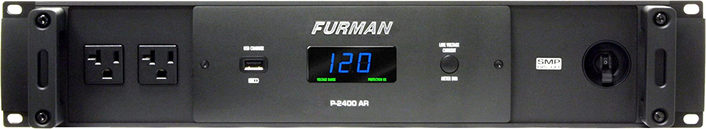 Furman P-2400 AR Power Conditioner True RMS Voltage Regulation Delivers Stable Voltage Output