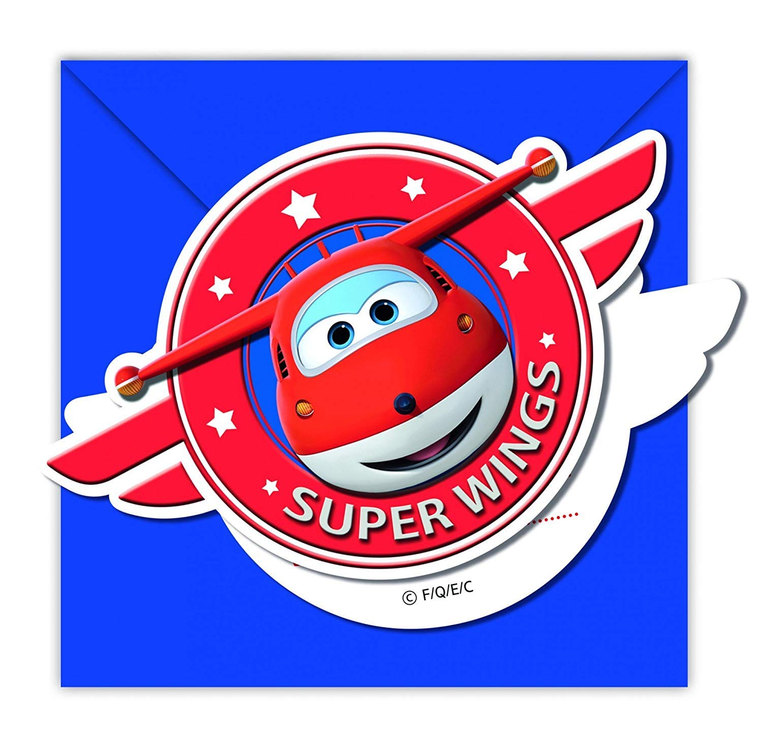 Amazon.com: Super Wings Party Invitations: Toys & Games