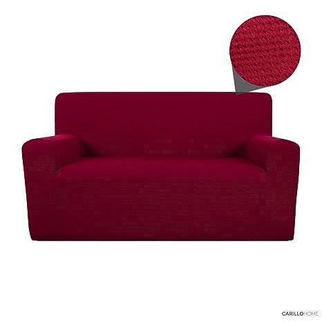 Funda Cubre Sofa Hop - 3 plazas, Burdeos: Amazon.es: Hogar