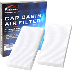 POTAUTO MAP 1004W (CF10135) High Performance Car Cabin Air Filter Compatible Aftermarket Replacement Part