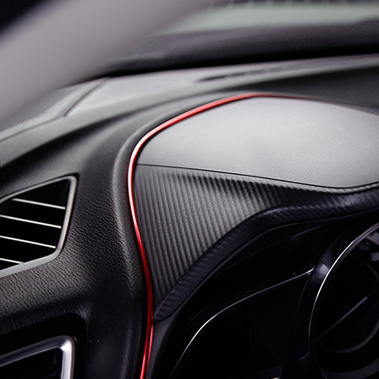Voiture int/érieur bricolage automobile moteur ext/érieur garniture 5M flexible pour bricolage Automobile voiture int/érieur ext/érieur moulure garniture ligne d/écorative