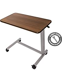 with laptop overbed on marayke size com table pinterest accessory tables drawers grain wood images mirrors amazon best for drawer w
