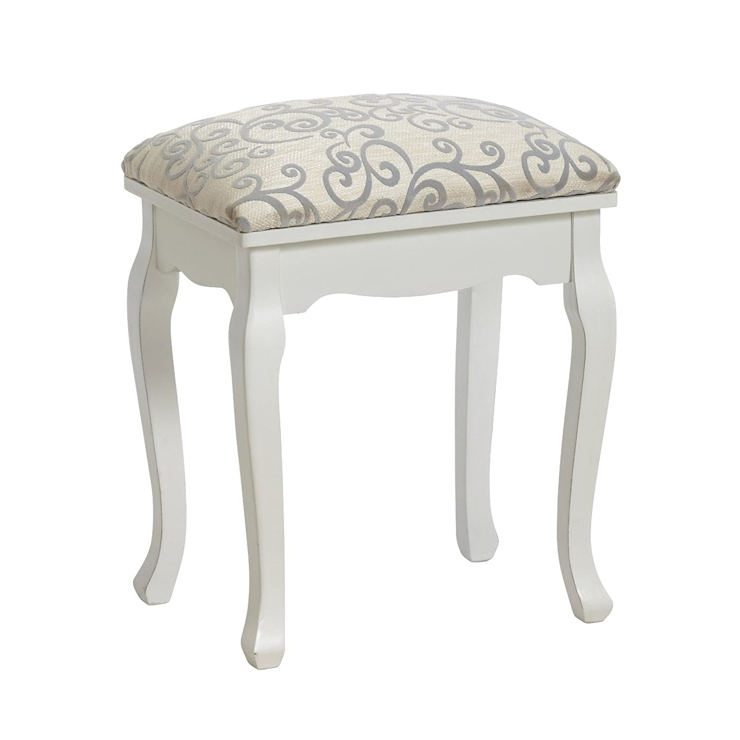 DESIGN DELIGHTS ELEGANT STOOL BAROQUE dressing table piano upholstered from Xtradefactory xtradefactory GmbH