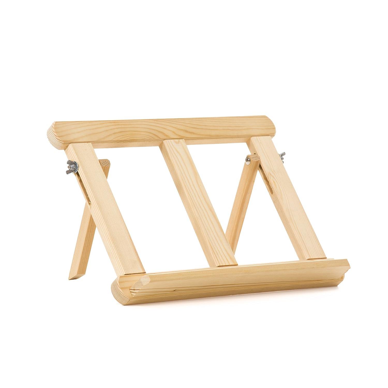 Lienzos Levante 1410602001 - Cavalletto da pittore, leggio semplice in legno di pino