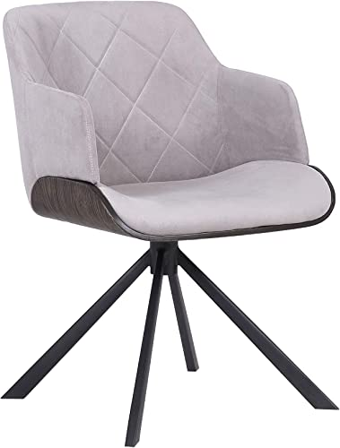 Armen Living Puma Fabric Dining Chair