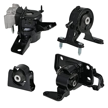 Amazon Com 4pc Motor Mounts Set Kit For 06 08 Toyota Rav  Cylinder 4wd Awd Auto Automatic Transmission  Engine Mounts