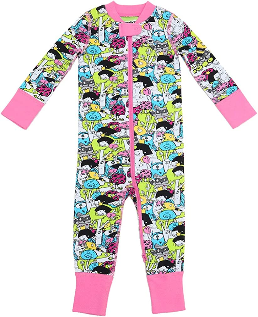 HappyLifea Tails White Baby Pajamas Bodysuits Clothes Onesies Jumpsuits Outfits Pink