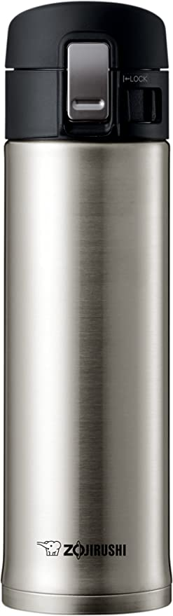 Zojirushi SM-KHE48AG Stainless Steel Mug, 16-Ounce, Smoky Blue
