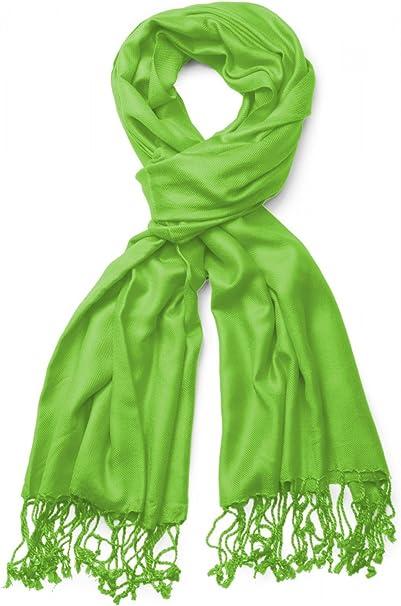 TALLA Talla única. styleBREAKER estola chal, pañuelo con deshilachados en muchos y variados colores, unisex 01012035