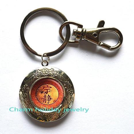 Símbolo de la Paz medallón llavero Paz medallón llavero ...