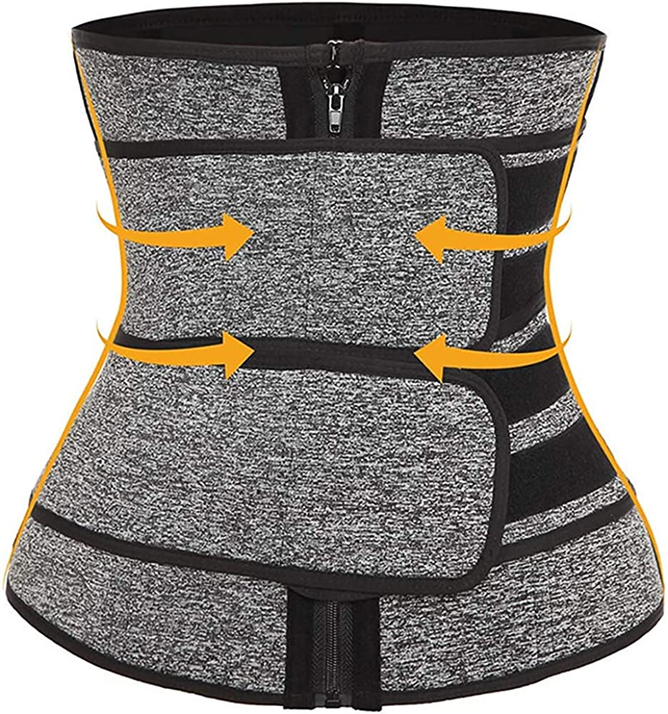 Demom Neoprene Women Waist Trainer Corset with Adjustable Shapewear for Weight Loss Workout
