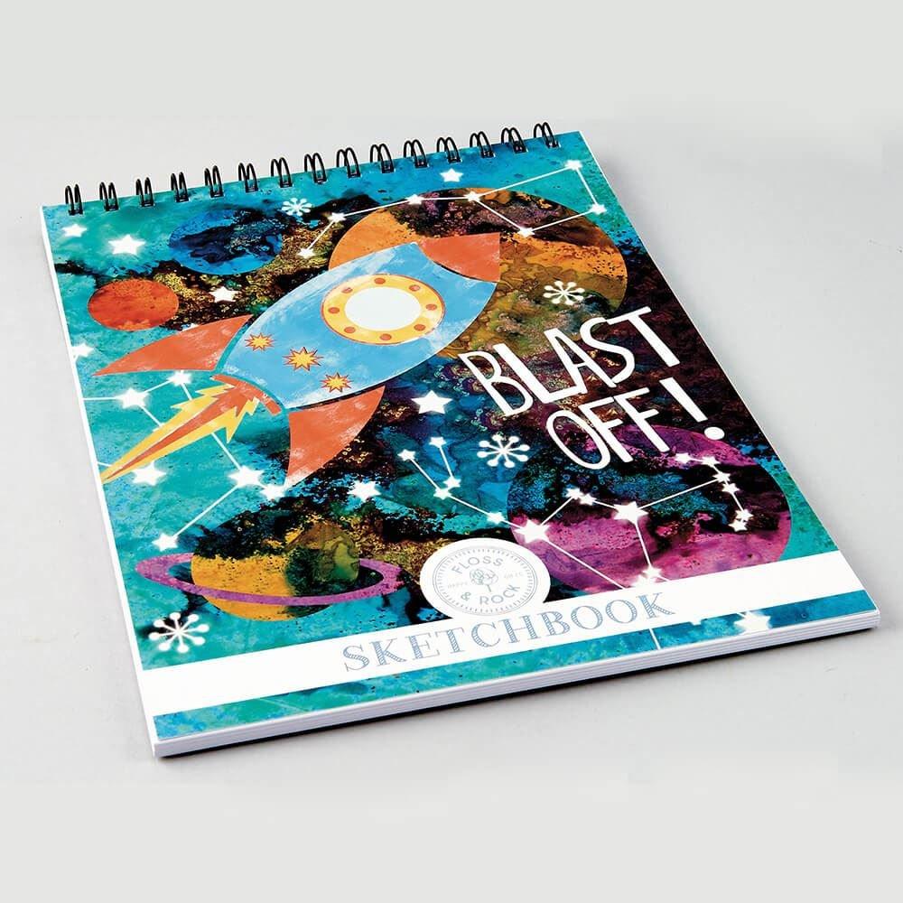 Floss /& Rock Rocket Sketchbook 35P2471