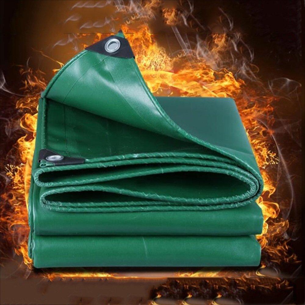 NAN liang 布難燃性布高温3つの布の環境保護500グラム m2 アウトドア (サイズ さいず : Green -2x3m) Green -2x3m  B07K5BMTVW