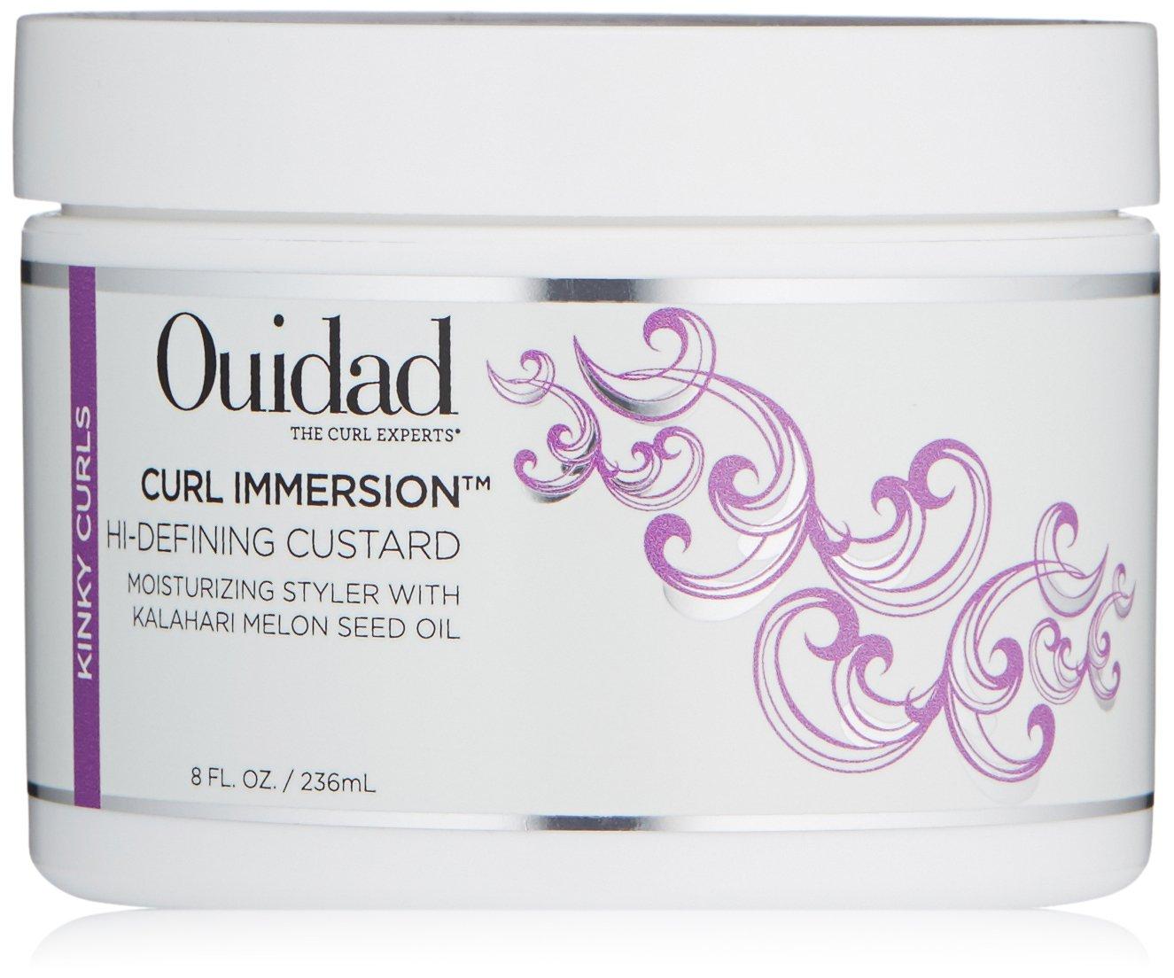 Ouidad Curl Immersion Hi-defining Custard, 8 Ounce