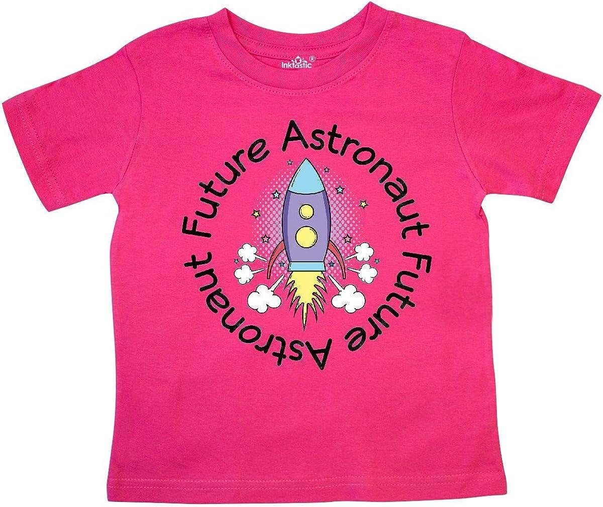 inktastic Future Astronaut Space Rocket Toddler Long Sleeve T-Shirt
