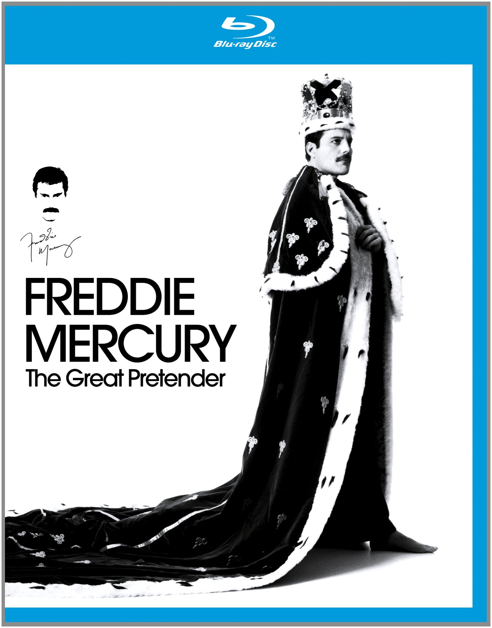 Blu-ray : Freddie Mercury - The Great Pretender (Blu-ray)