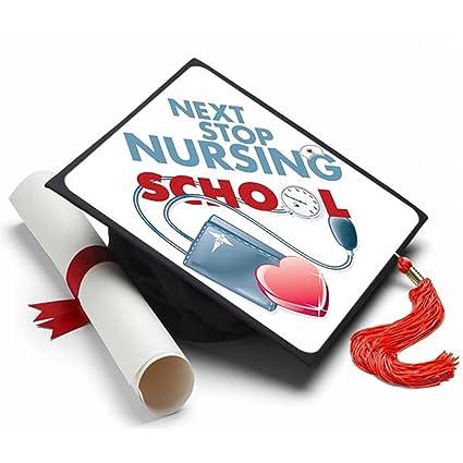 Amazon Com Tassel Toppers Next Stop Nursing School Grad Cap