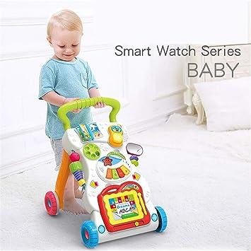 BABIFIS Caminante de Actividad 3 en 1, Carritos para niños de educación temprana para Enviar Tanques de Agua Caminador Multifuncional para bebés 0-3 años: ...