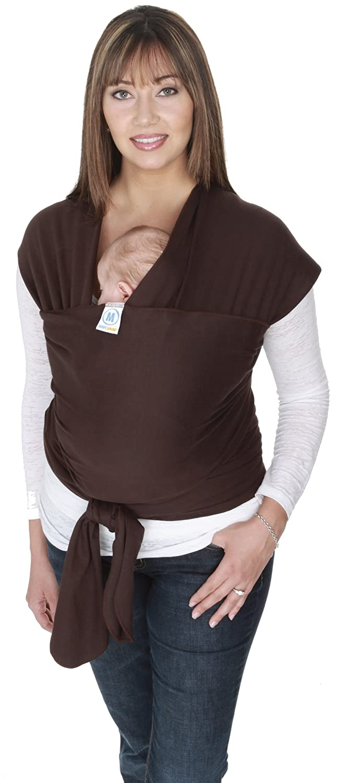 Moby Wrap Original 100/% Cotton Baby Carrier Black