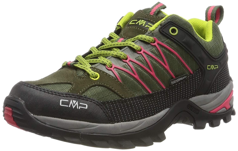 Vert (Kaky-corallo 65bn) CMP Rigel Low, Chaussures de Randonnée Basses Femme 36 EU