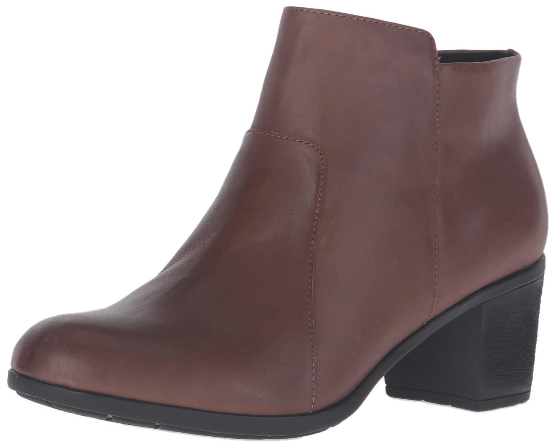 Easy Spirit Women's Billian Boot B01DBEINBO 9 W US|Dark Natural Leather