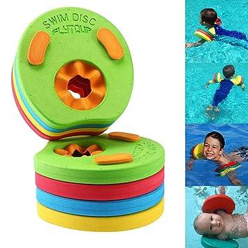 Pawaca - Juego de 8 Discos de Flotador para bebés y niños para Aprender a Nadar