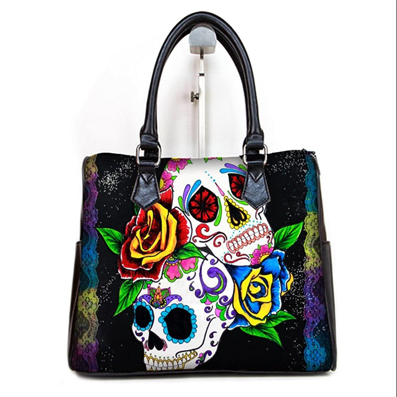 Fashionable Female Women Barrel Type Handbags Pouch Day Of