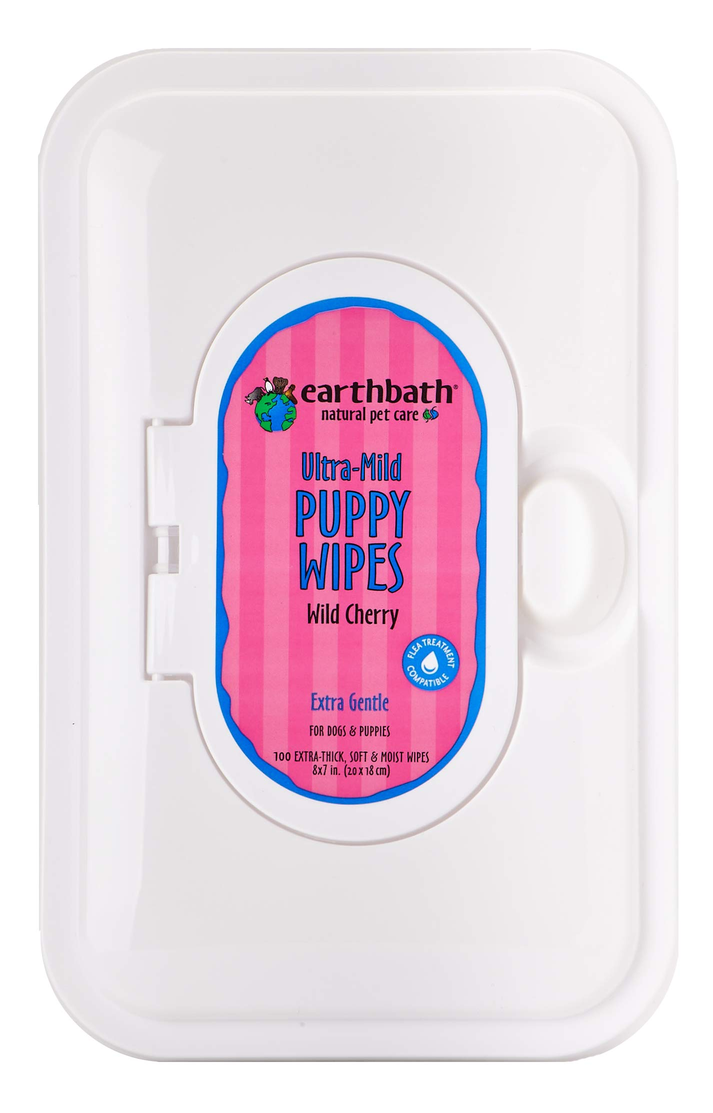 Earthbath 602644023096 Grooming Wipes Puppy 100 ct WLM