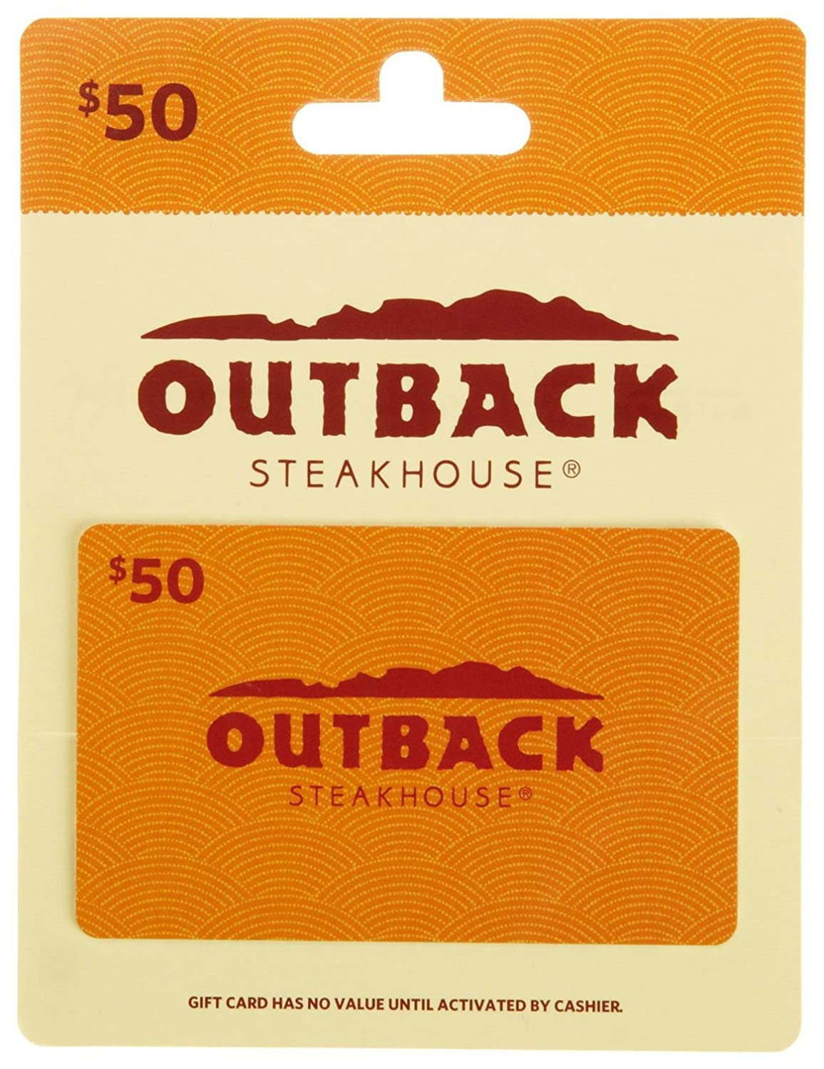 Outback Steakhouse Card