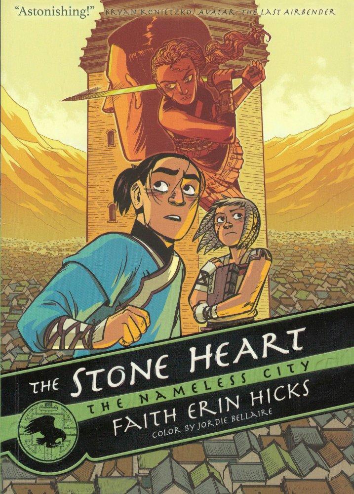 The Stone Heart (Turtleback School & Library Binding Edition) (The Nameless City) PDF