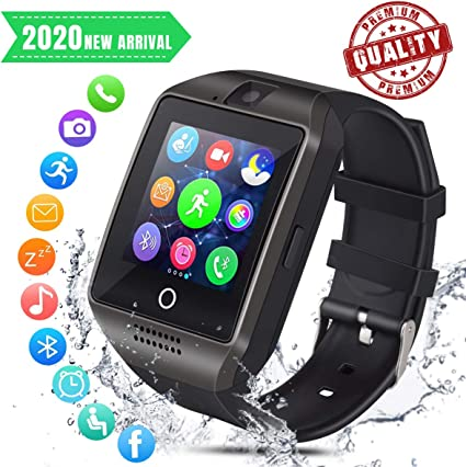 Smart Watch Bluetooth Smartwatch Smart Watch for Android iOS Phone with Pedometer and Sleep Monitoring Cell Phone Watch with SIM Card Slot for Men ...