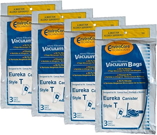 Canister Series 970 972 Vacuum Cleane 15 Eureka T Allergy Canister Vacuum Bags