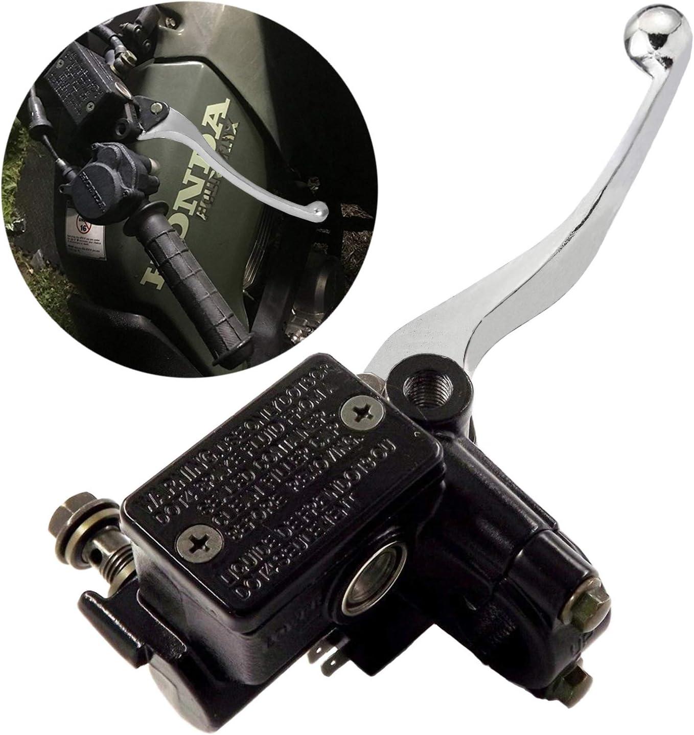 Brake Master Cylinder for Yamaha YFZ450 Banshee 350 Big Bear 250 350 400 Grizzly 300 350 400 450 550 600 660 700 Kodiak Raptor 125 250 350 660R 700 700R TRX 250 300 350 450 Rincon Foreman