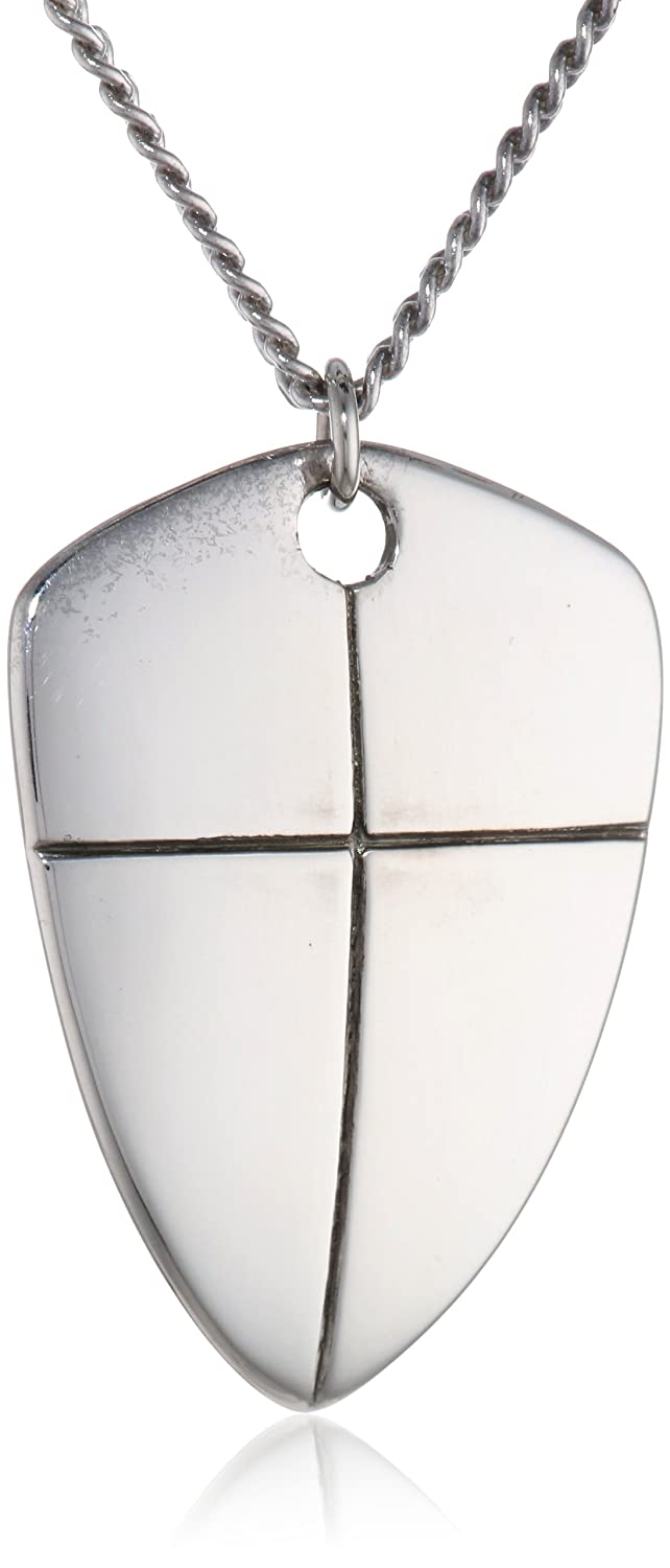 Amazon bob siemon sterling silver large reversible shield of amazon bob siemon sterling silver large reversible shield of faith pendant necklace 20 jewelry aloadofball Images