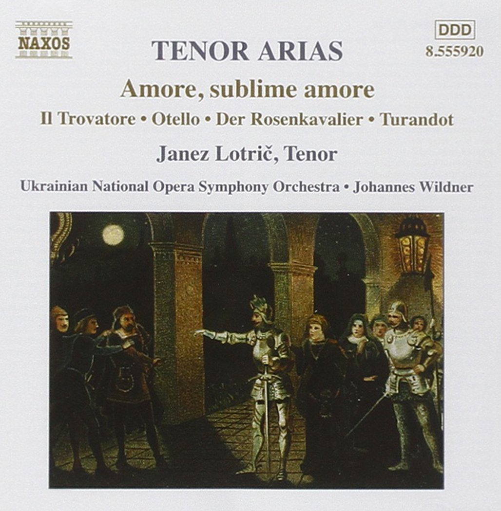 Tenor Cash special New Free Shipping price Arias