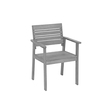 greemotion Chaise de Jardin Maui en Bois en Bois d\'Acacia 100% FSC ...