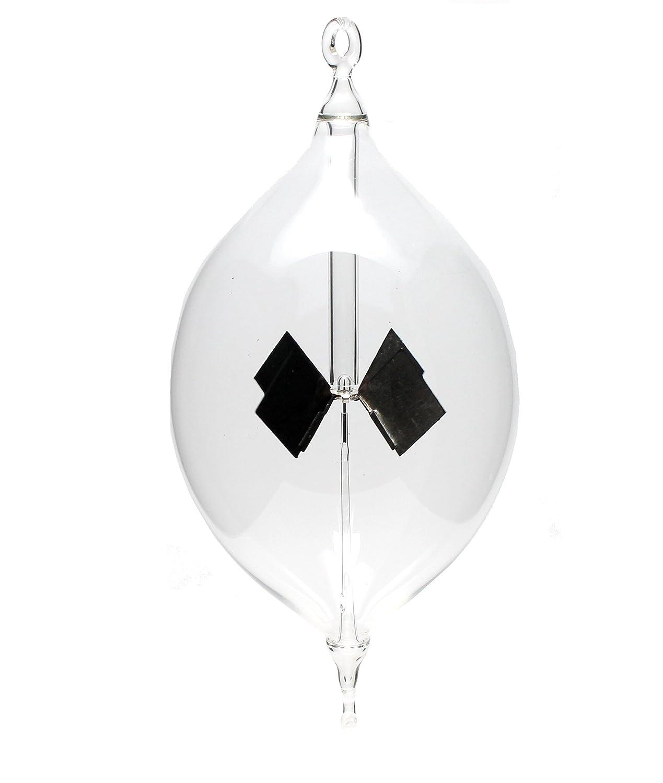 Radiometres lichtmühle Solaire à Suspendre 80 mm Transparent après Crookes lichtmühlen Cipin Glas